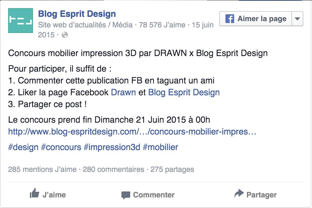 drawn concours blog esprit design drawn. Black Bedroom Furniture Sets. Home Design Ideas