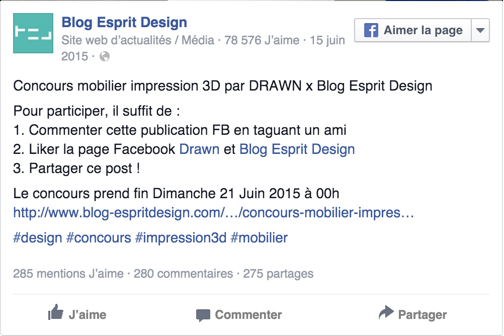 Blog Esprit Design drawn : blog esprit design contest ! - drawn
